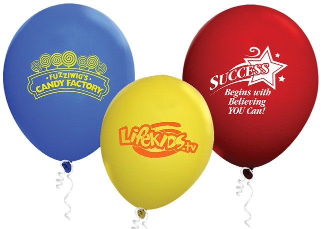 11 Standard Color Latex Balloon