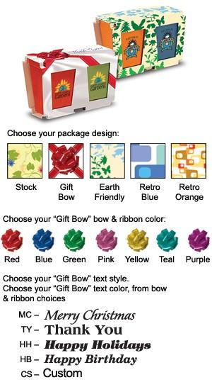Promo Planter, 2-Pack Planter Set, Full Color Digital