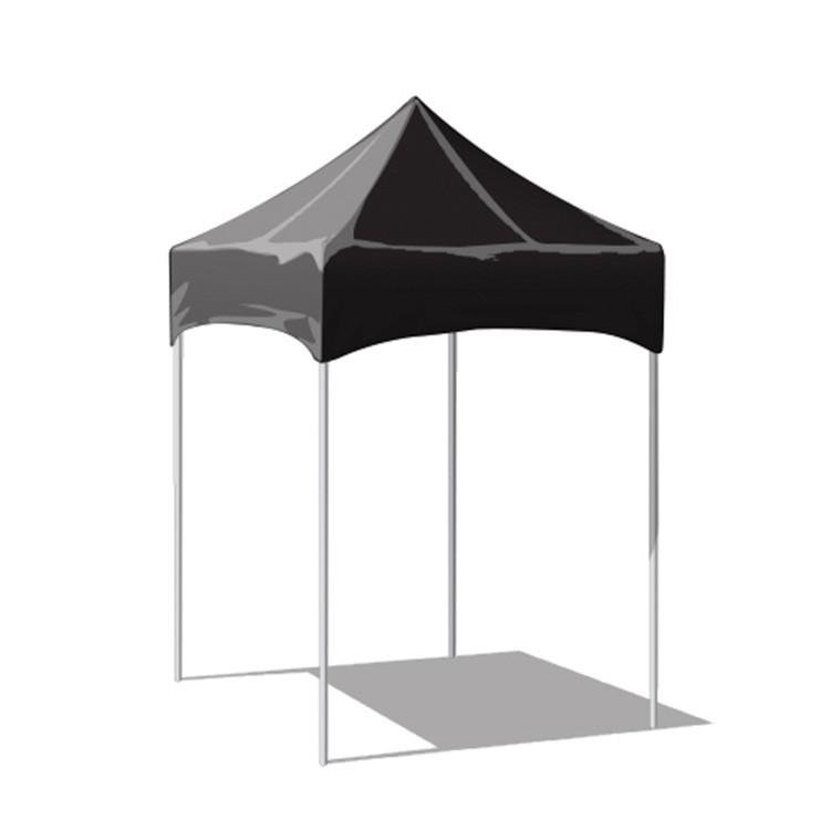 5x5 Canopy Plain Black Top Ts5k S Custom Logo Branded