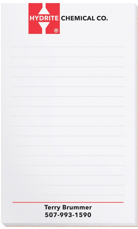 Scratch Pad -- 3 1/4 x 5 3/8 -- 25 sheets
