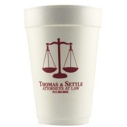 Foam Cups (Hot or Cold)-12 oz.