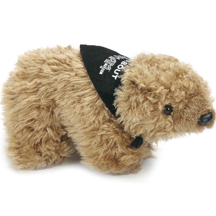 9 Realistic Stuffed Animal- Grizzly Bear