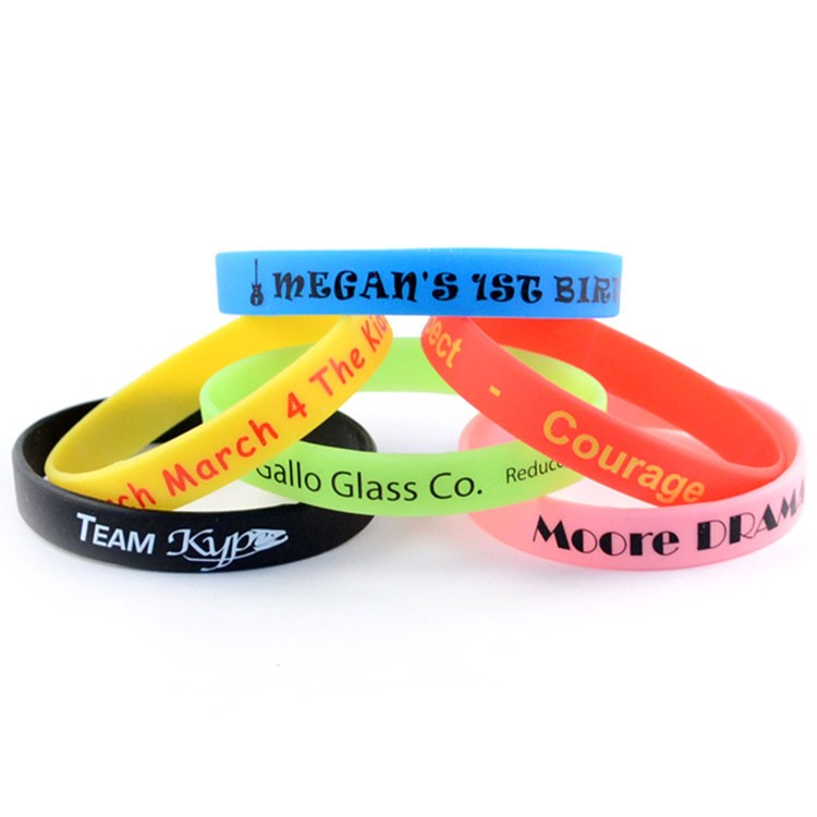Printed Silicone Wristband