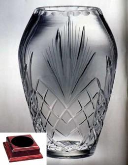 Raleigh Cintura Award Vase on Rosewood Piano Finish Base