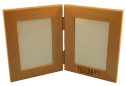 Folding Wood Picture Frames for 4 x 6 Photos