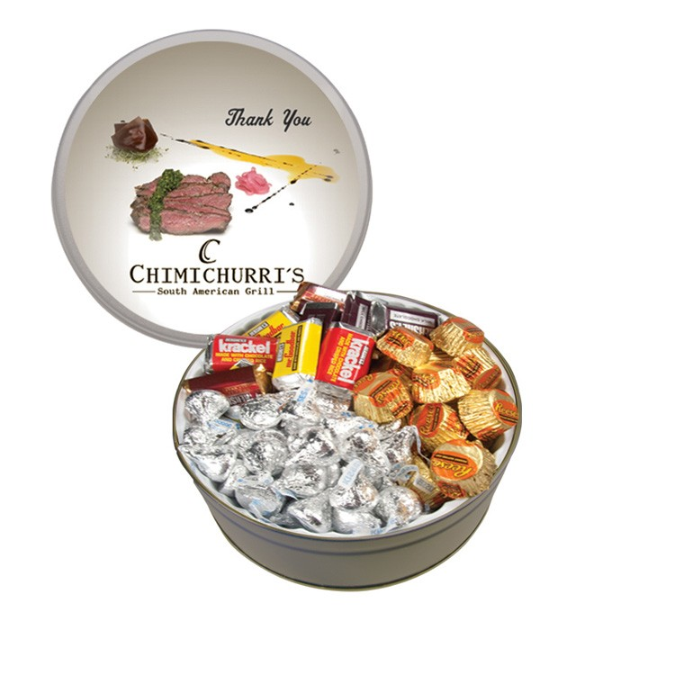 The Royal Tin with Hershey Chocolates - Silver