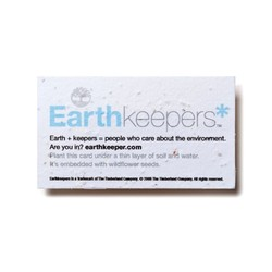 Seed Paper Business Card (PSB)