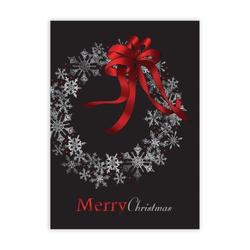 Snowflake Celebration Economy Holiday Card