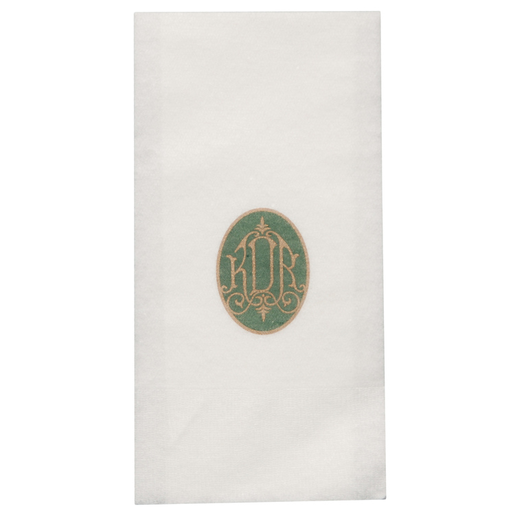 Almost Linen Guest Towel - White