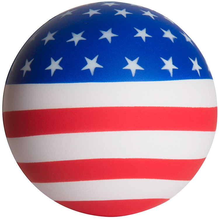 American Flag Squeezies Stress Ball