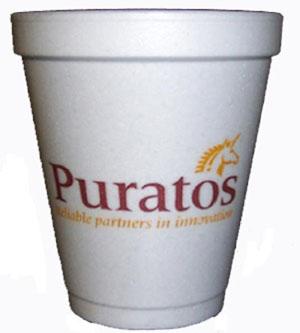 8 oz. Styrofoam Hot/Cold Cup