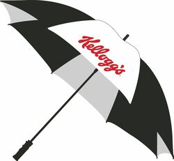 PRO 62 TOP QUALITY GOLF UMBRELLA WITH FIBERGLASS SHAFT
