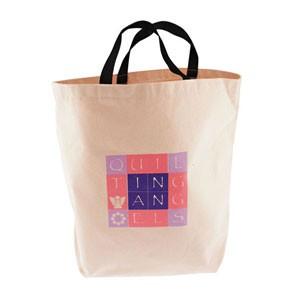 Jumbo Natural Canvas Tote Bag w/Gusset (12