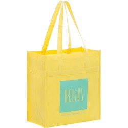 Non-woven Polypropylene Grocery Tote - Y2KL13714 - Silk Screened