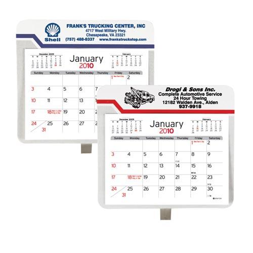 Large Car or Truck Visor Calendar