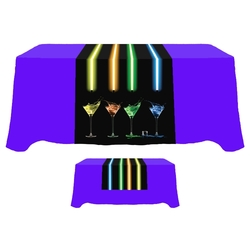 Digital 30 x 84 Table Runner - Standard Poly Fabric