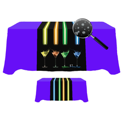 Digital 30 x 90  Table Runner - Liquid Repellent Fabric
