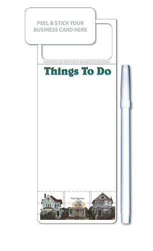 Skinny Mini Memo Boards - Stock Things To Do (3.5x9)