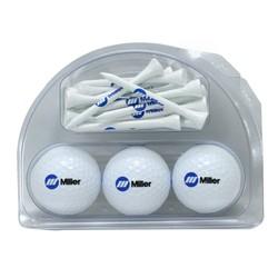 3 Ball & 18 2 3/4 tee pack - Callaway Chrome Soft