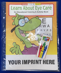 COLORING SET - Learn About Eye Care Coloring Book Fun Pack