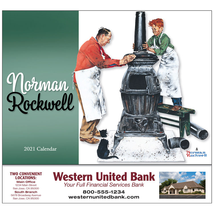 Norman Rockwell's Wonderful World appointment calendar