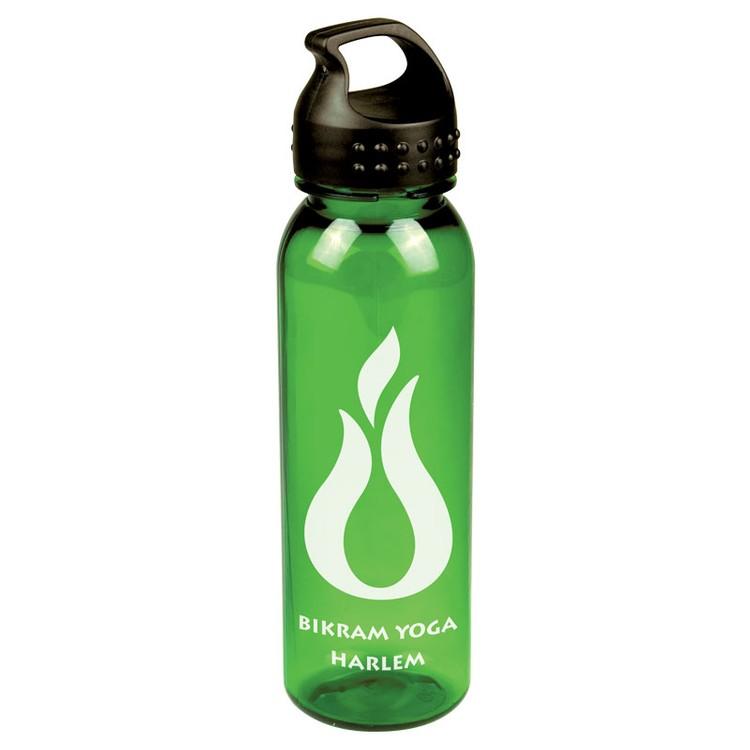 24 Oz Tritan Sports Bottle W/ Crest Lid