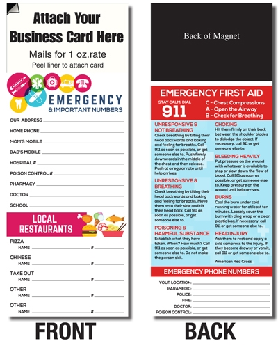AdCard – Emergency Numbers
