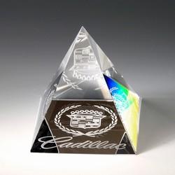 Award- Awards, Trophy,Pyramid Paperweight 2-1/8