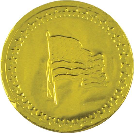American Flag Chocolate Coin