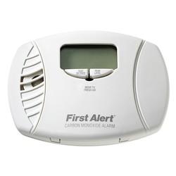 First Alert Plug-in Carbon Monoxide Alarm with Battery Backup & Digital Display
