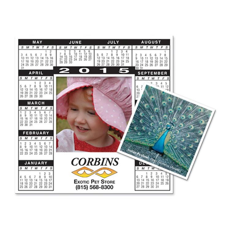 Magnet - Calendar Rectangle Picture Frame - Full Color