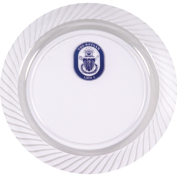9 Clear Plastic Plate