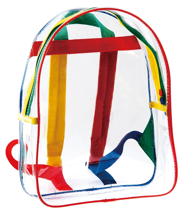 Kids Clear Backpack