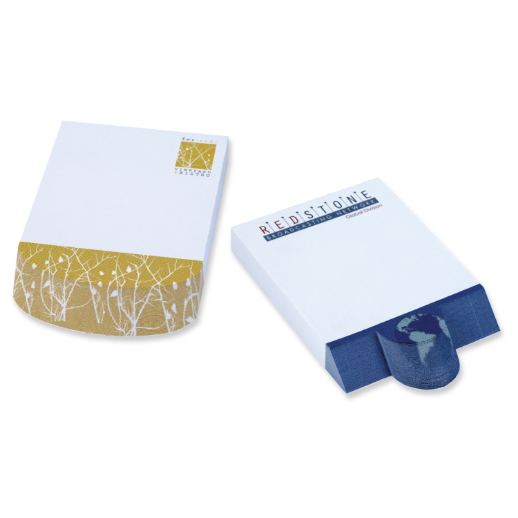 BIC&174 Ecolutions&174 4 x 6 Adhesive Beveled Notepad