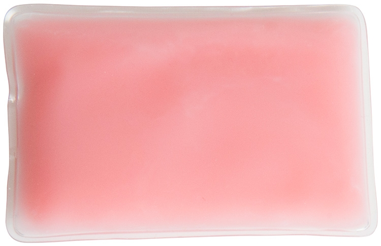 Opaque Pink Rectangle Chill Patch