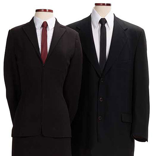 Maroon Polyester Skinny Tie