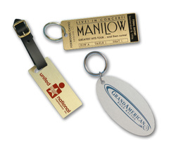 Key & Luggage Tags - Metal