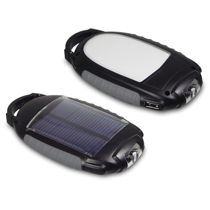 9355SCC - Solar Cell Phone Charger w/ Light