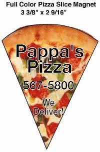 Full Color Pizza Magnet