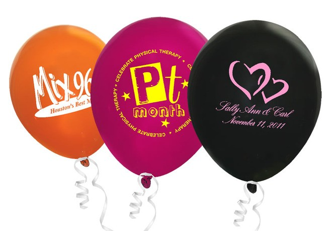 11 Crystal Color Latex Balloon