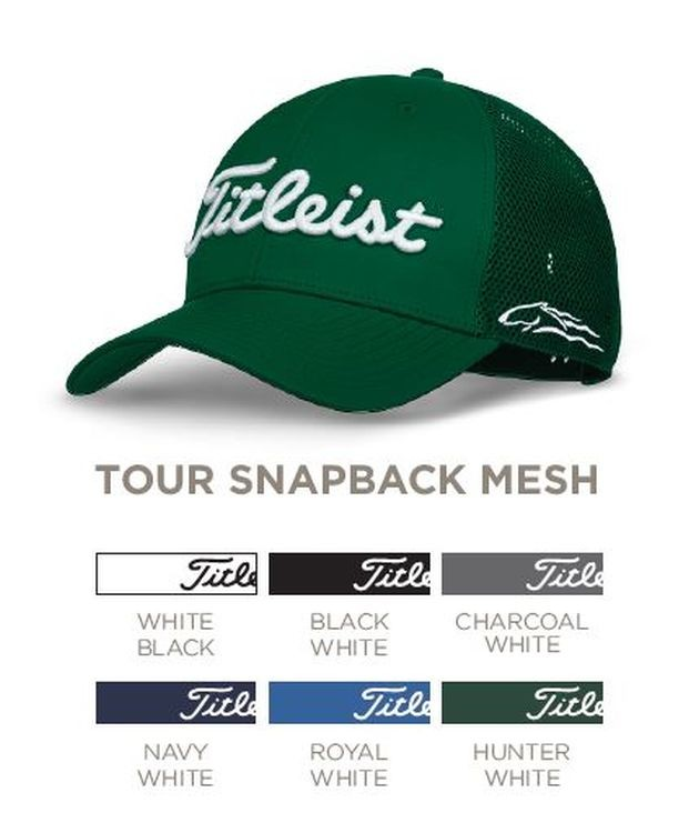 126375b7fba Titleist Tour Mesh Snapback Golf Hat - TH8ASCMC
