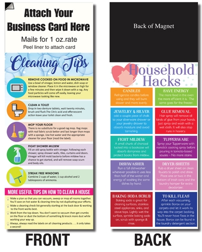 AdCard – Cleaning & Household Hacks