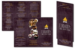 Tri-Fold Flyer Brochure - 8.5x11 - 4 pt. Gloss Text