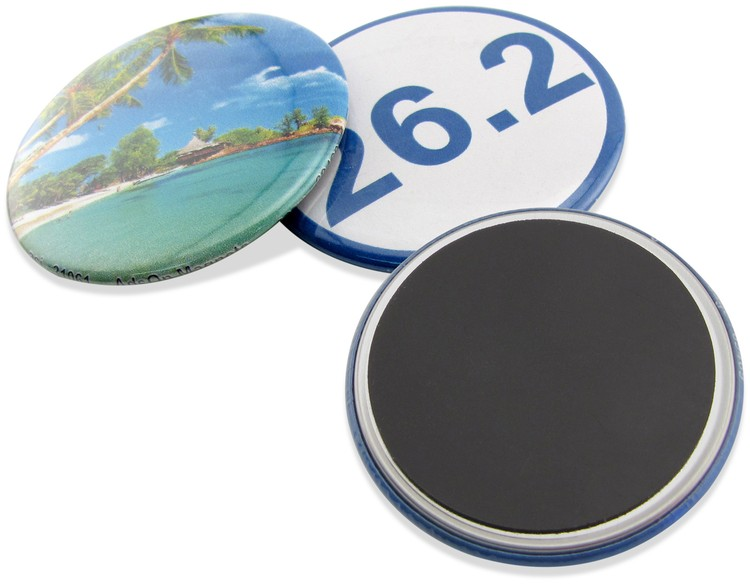 2.25 Round Magnetic Button