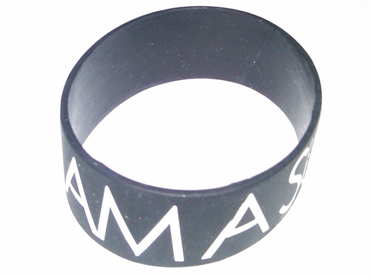 1 Printed Silicone Wristbands