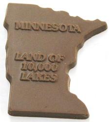CHOCOLATE STATE MINNESOTA LAND OF 10,000 LAKES