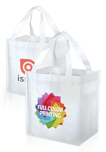 Full Color Grocery Tote Bag