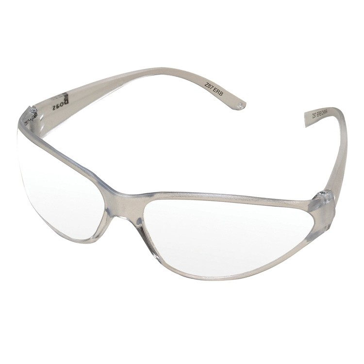 Boas UV Protective Safety Glasses (Clear Frame/ Temple/ Lens)