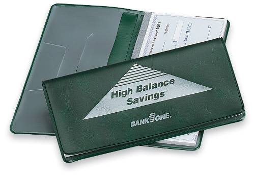 Heat Sealed Checkbook Cover (Made in USA)