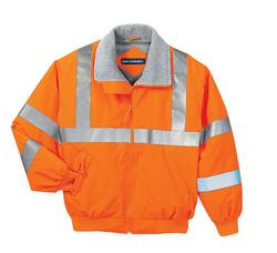Port Authority - Safety Challenger Jacket with Reflective Taping.